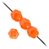 Fire Polished 12mm Orange